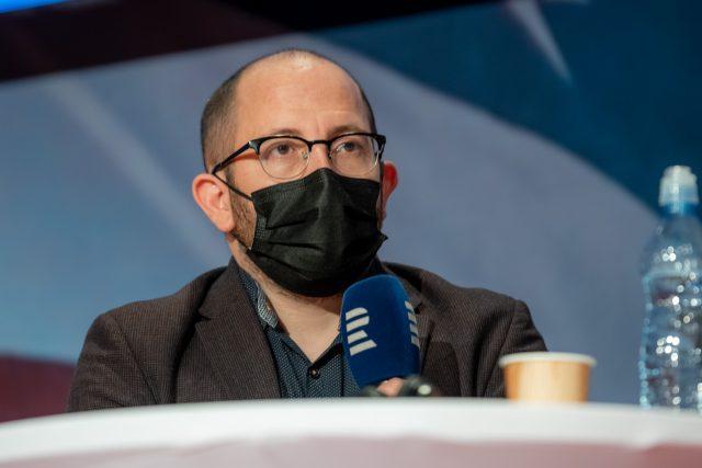 Poslechněte si celý rozhovor se sociologem Danielem Prokopem | foto: Khalil Baalbaki,  Český rozhlas,  Český rozhlas