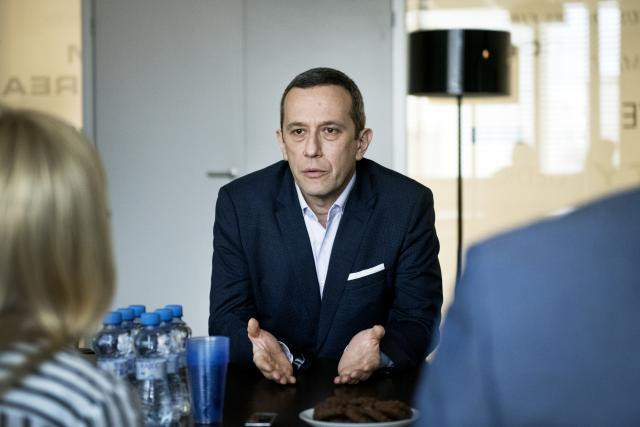 Radoslaw Kedzia,  generální ředitel Huawei pro Česko a Slovensko | foto: Michaela Danelová,  iROZHLAS.cz