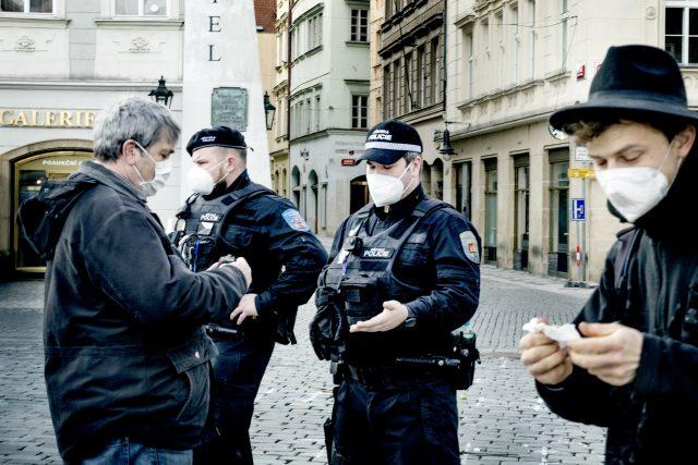 Policejní kontrola (ilustrační foto)