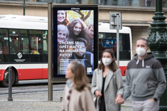 Citylight na podporu očkování