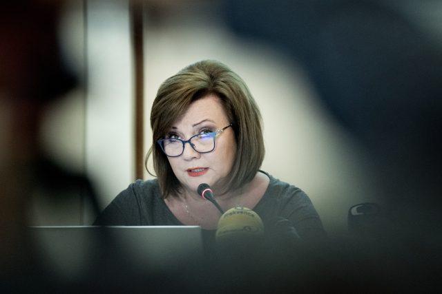 Alena Schillerová   foto: Michaela Danelová,  iROZHLAS.cz