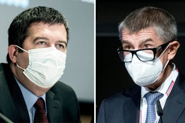 Předseda ČSSD Jan Hamáček a šéf ANO Andrej Babiš