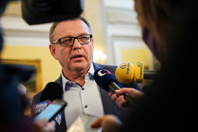 Ministr kultury Lubomír Zaorálek z ČSSD