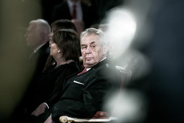 Prezident Miloš Zeman | foto: Michaela Danelová,  iROZHLAS.cz