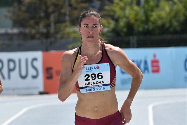 Nechtěla bych se s kariérou loučit tak,  že bych neabsolvovala žádný závod. Doufám,  že se ještě připravím na nějaký start,  říká Hejnová   foto: ASC Dukla - Ivana Roháčková