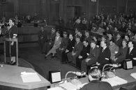 Marie Volfová, proces s padělateli potravinových lístků, 19. 4. 1952