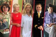 Generálka Lenka Šmerdová, kriminalistka Renata Miková, neurochirurgyně Eva Brichtová, pilotka Judita Svobodová a soudkyně Irena Pelikánová