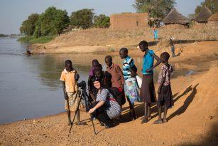 Tereza Hronová z Člověka v tísni pomáhá (nejen) v Africe