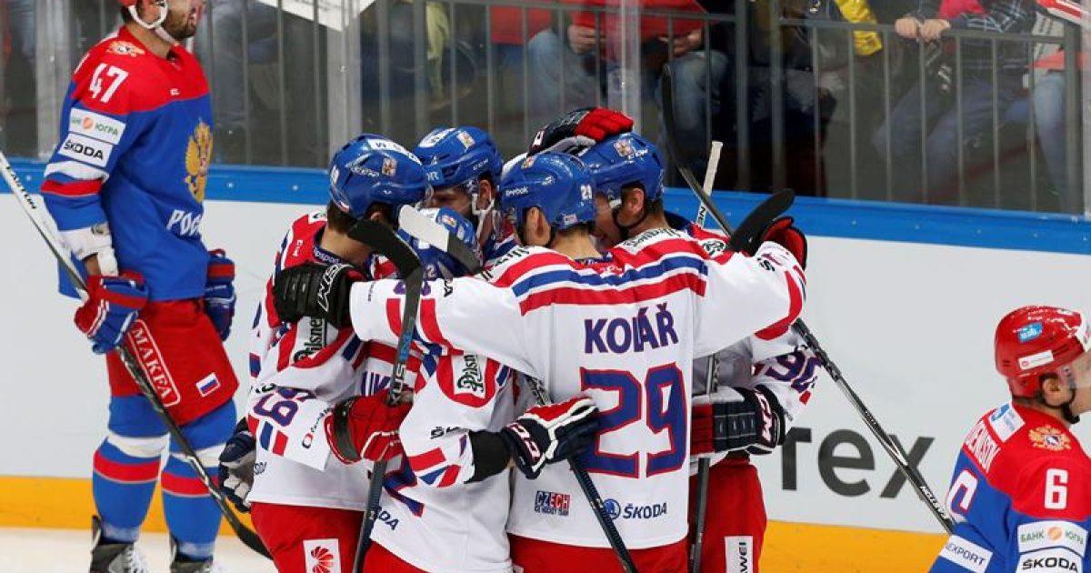 1aff4034f5daa Hokejová reprezentace porazila v Moskvě domácí Rusko 4:2 a vyhrála Channel  One Cup   Radiožurnál