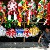 Jedním ze symbolů Vánoc na Filipínách jsou lucerny ve tvaru hvězdice zvané parol