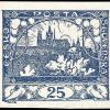 Aflons Mucha: poštovní známka Hradčany