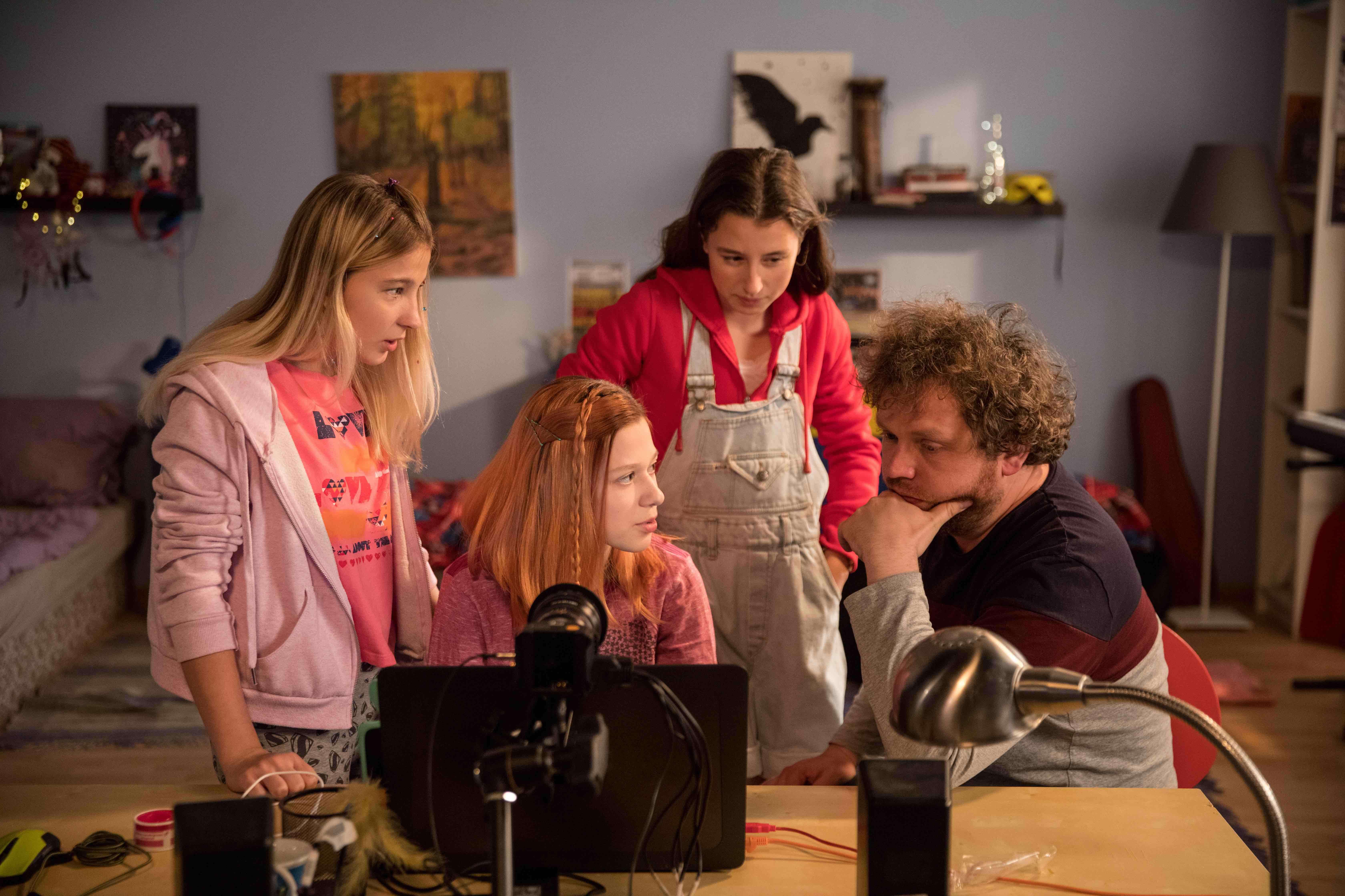 Z natáčení dokumentárního filmu V síti