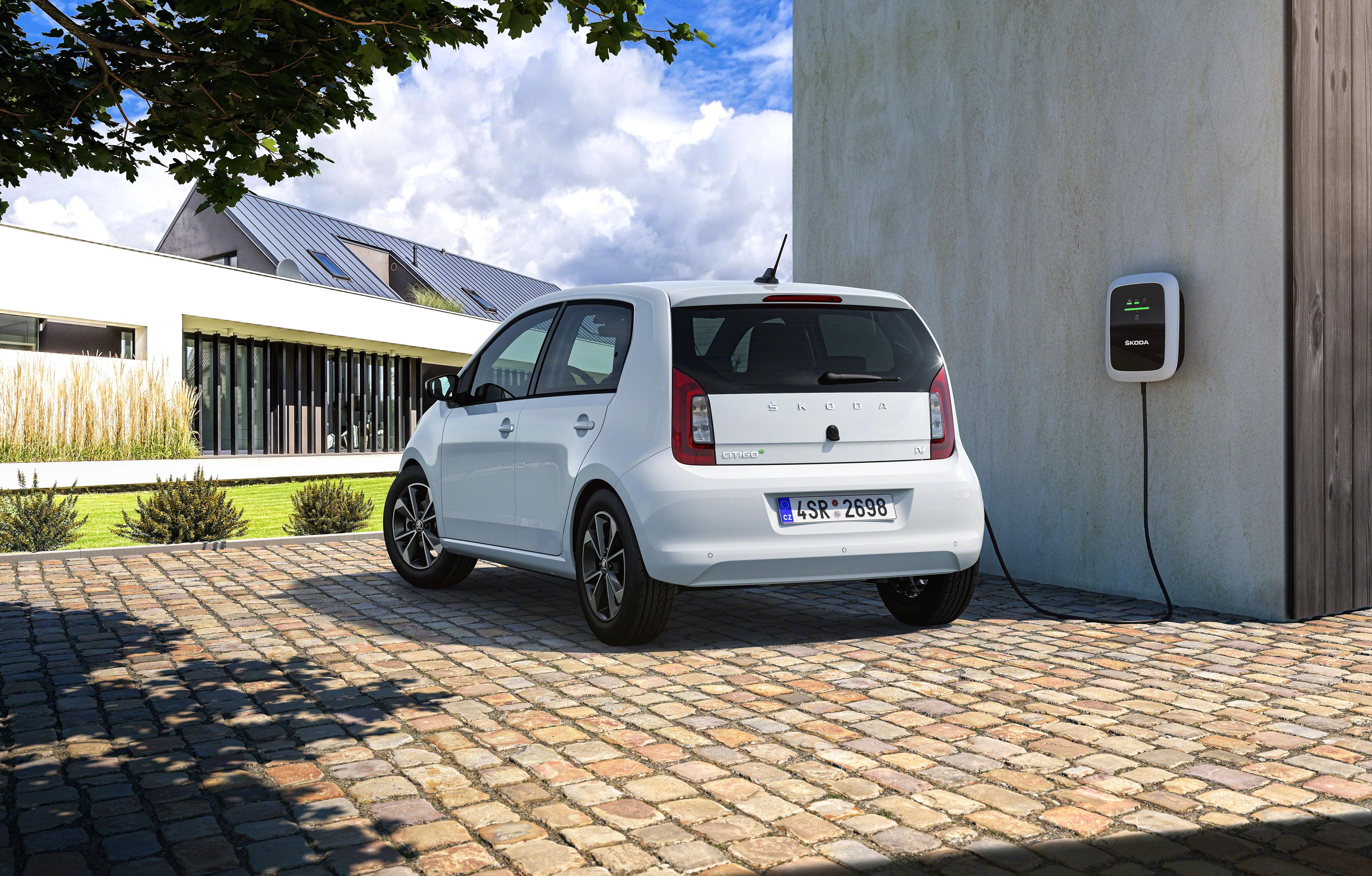 Nový elektromobil Citigo Škoda Auto.