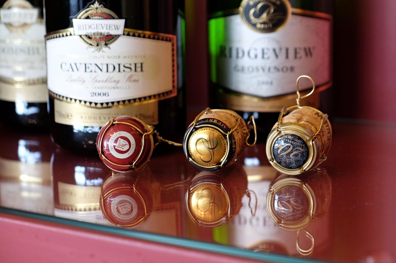 Sparkling wine  - britské šampaňské